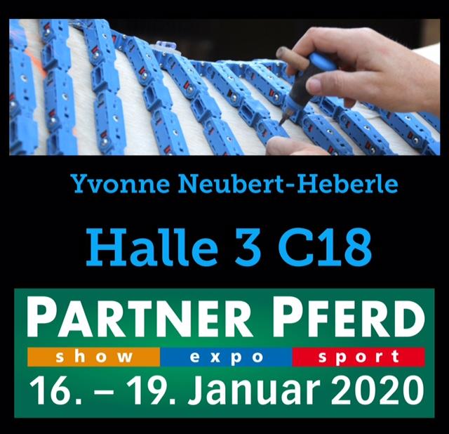 Messe Pferd Partner Pferd Leipzig 2020 Yvonne Neubert-Heberle Equiscan Pferderückenvermessung in Deutschland, Österreich und Spanien